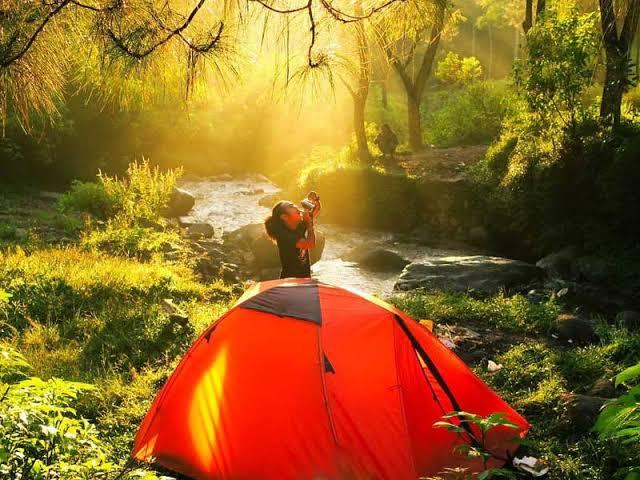 tempat camping di kota malang