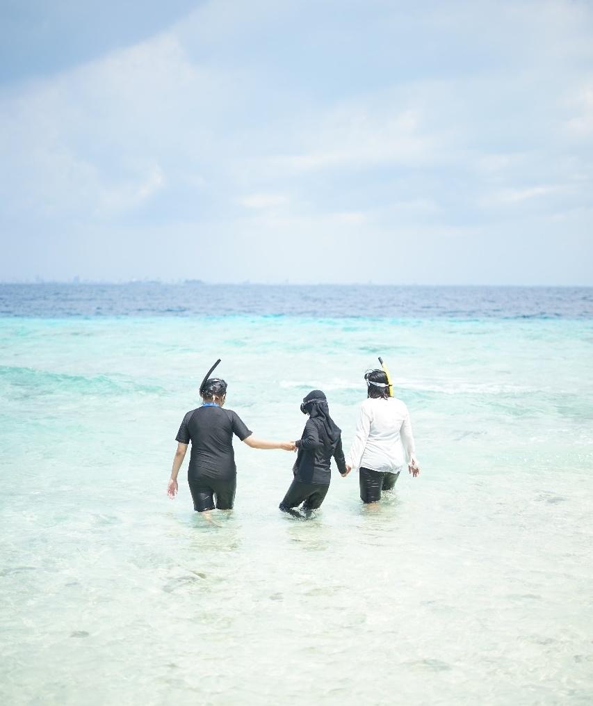 Pengalaman pertama snorkeling